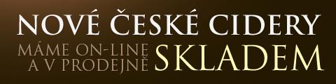 Nové české cidery skladem
